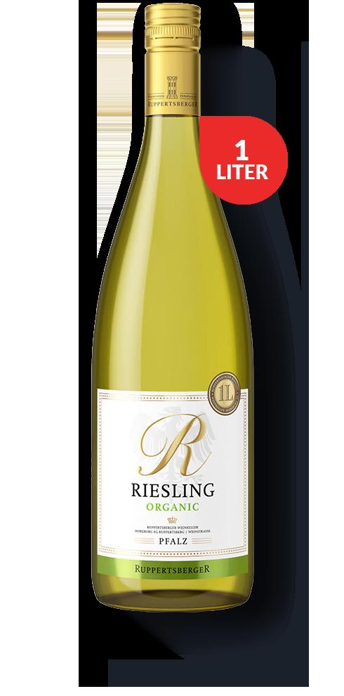 R Riesling  Ett vitt ekologiskt vin på Riesling från kända regionen Pfalz i sydvästra Tyskland.