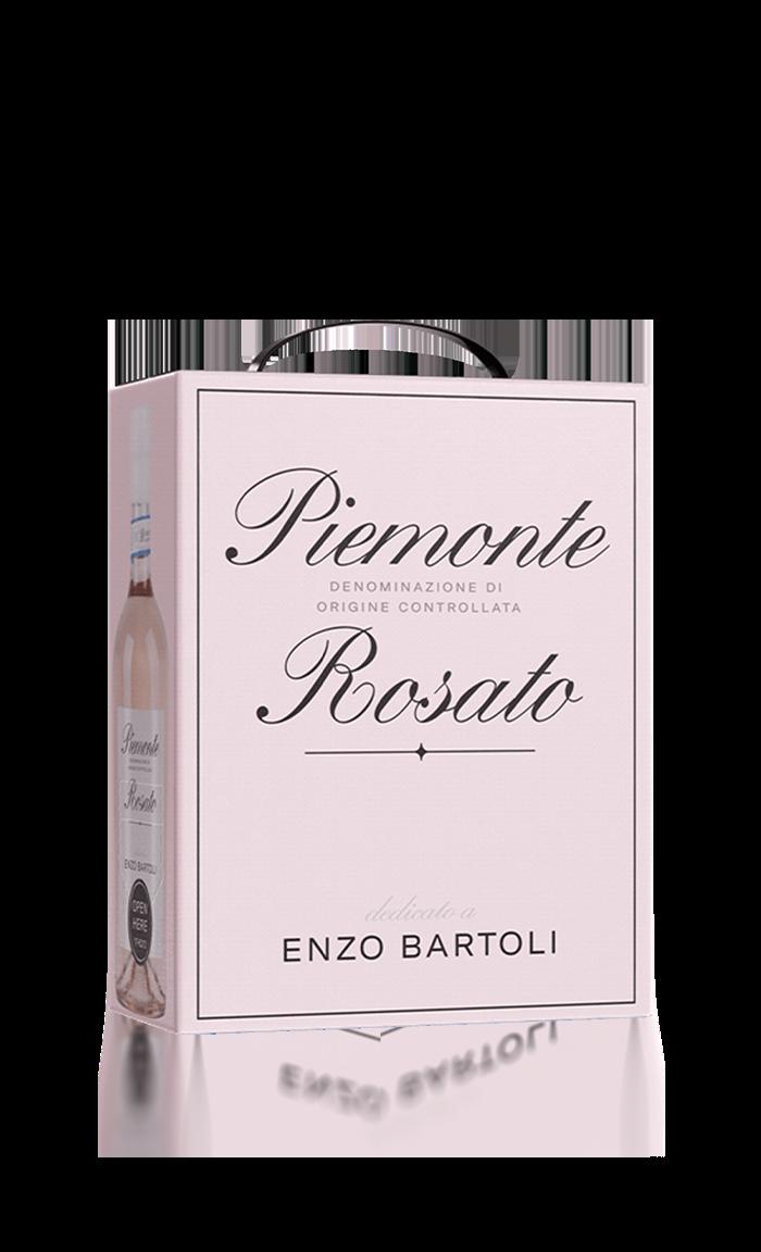 Enzo Bartoli Piemonte Rosato Bag in Box