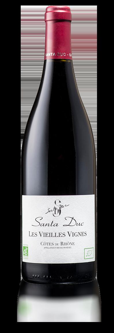 Santa Duc Côtes du Rhône les Vieilles Vignes