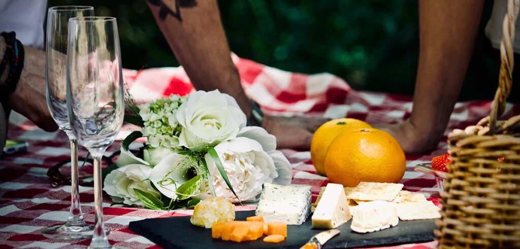 champagne picknick