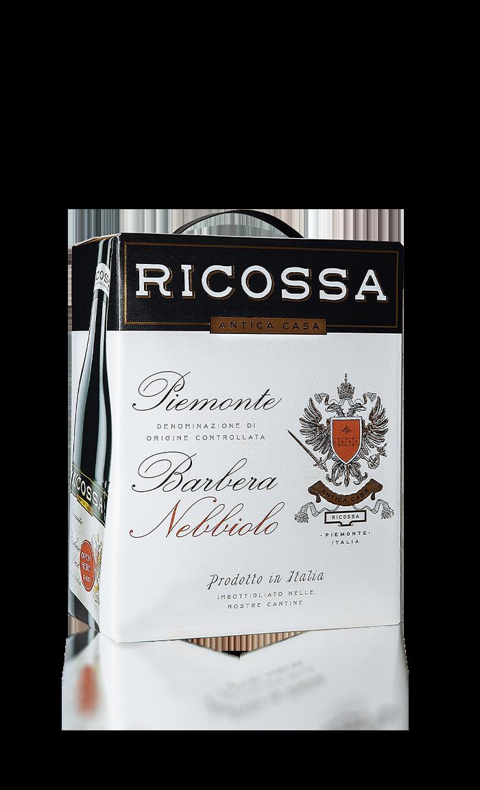 Ricossa Barbera Nebbiolo Bag in Box